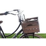 Fietskrat op de voordrager - fietskrat transportfiets