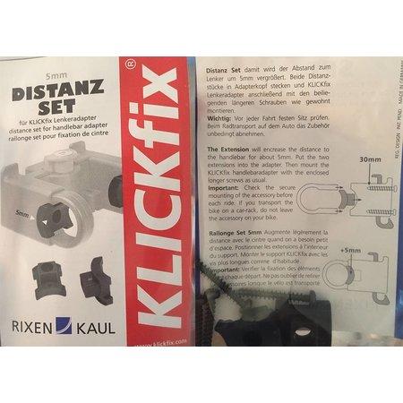 KLICKfix Afstandsset 5mm voor stuurhouder CC-100