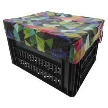 Hooodie Box M Colored Triangles voor Kerri Fietskrat