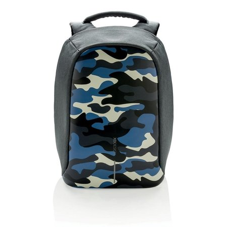 XD Design Rugzak Bobby Compact 11L Camouflage Blauw - Anti diefstal