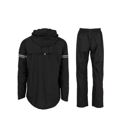 AGU Original Rain Suit - Regenpak Zwart - Maat XXL