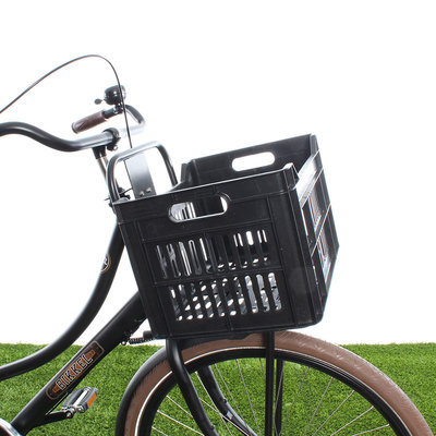 Urban Proof Fietskrat 30L Black - Recycled