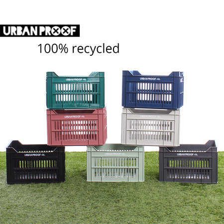 Urban Proof Fietskrat 30L Dark Blue - Recycled