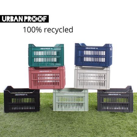 Urban Proof Fietskrat 30L Black - Recycled
