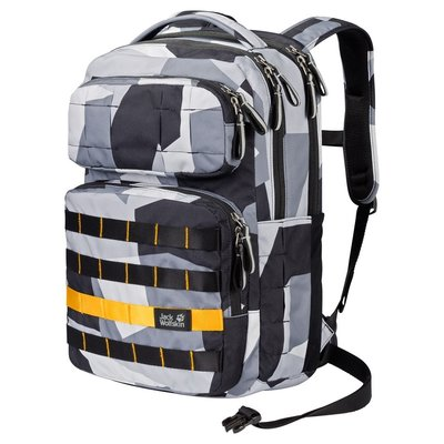 Jack Wolfskin Kinderrugzak TRT School Pack 20L Grey Geo Block
