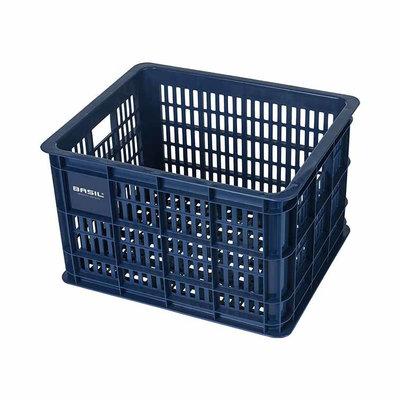 Basil Fietskrat Crate 33L Bluestone MIK/RT