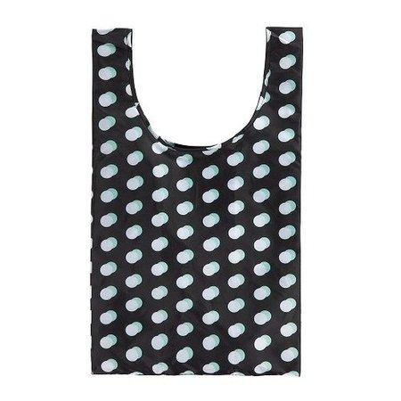Urban Proof Shoppertasje Stippen Zwart - altijd op zak = ideaal!