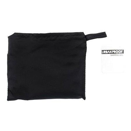 Urban Proof Shoppertasje Zwart - altijd op zak = ideaal!
