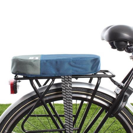 Urban Proof Fietskussen bagagedrager Recycled - Blauw/Groen