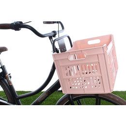 Urban Proof Fietskrat 30L Pastel Pink - Recycled