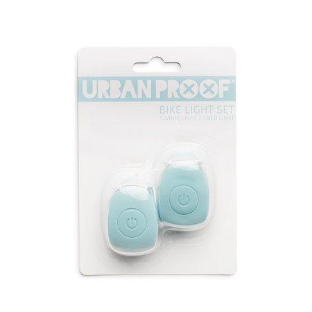 Urban Proof Fietsverlichting led Vintage Blue - helder licht, twee standen
