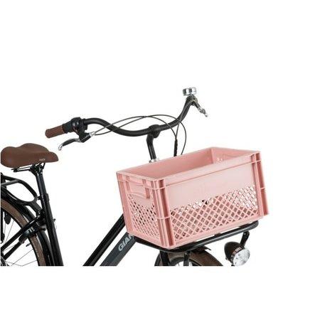 FastRider Fietskrat Junior 25L oud roze