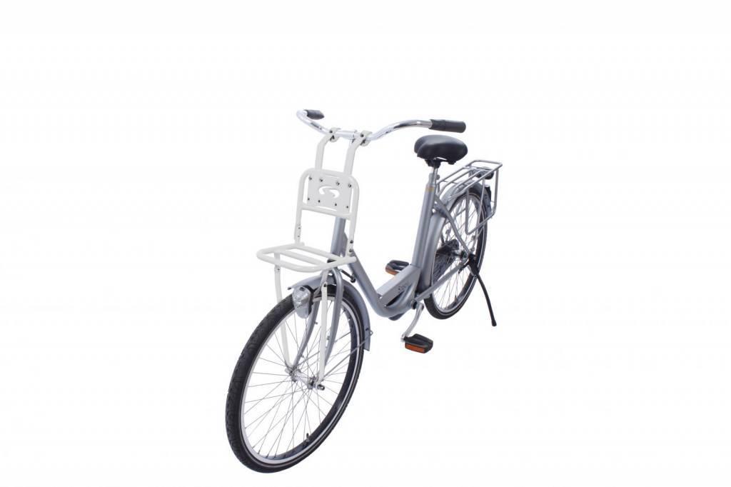 uitverkoop details voor redelijk geprijsd Transport Comfort kleine voordrager voor kinderfiets - wit