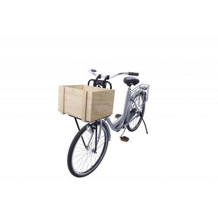 Steco Transport Comfort voordrager voor fietsen volwassenen - zwart