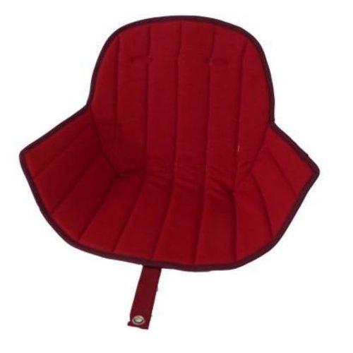 Ovo highchair - stoel kussen rood