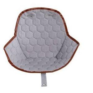 Ovo Ovo highchair - stoel kussen grijs honingraat
