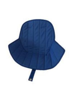 Ovo highchair - stoel kussen blauw