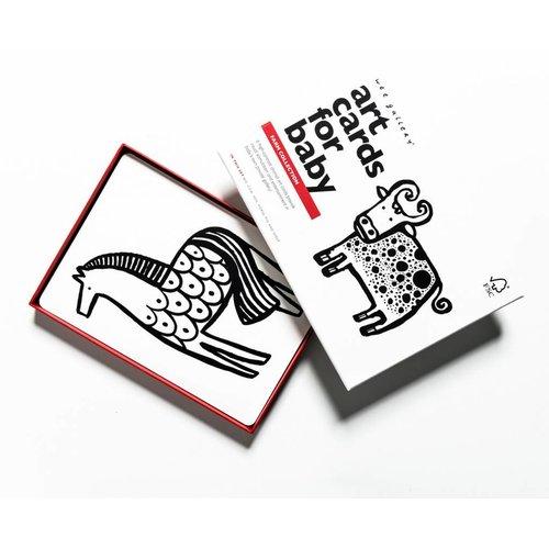 Wee Gallery Art cards Farm Animals
