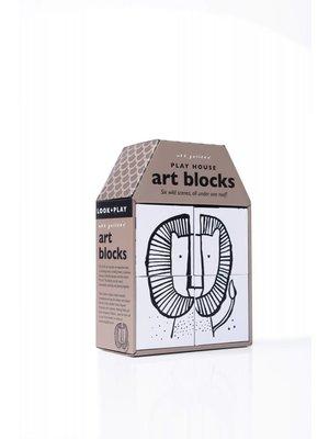 Wee Gallery Puzzel Blokken Wild Scenes Wee Gallery