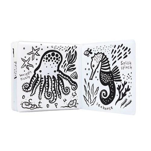 Wee Gallery Badboekje met toverkleuren- Wie zwemt er in de zee? Ocean Wee Gallery