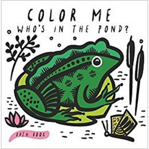 Wee Gallery Bath Book Color me Pond Wee Gallery