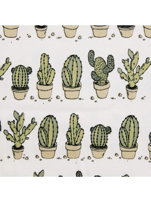 Sleep No More Sleep No More CAN'T TOUCH THIS Cactus Romper korte mouwen
