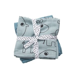 Done by Deer Done by Deer Swaddle 2-pack Contour