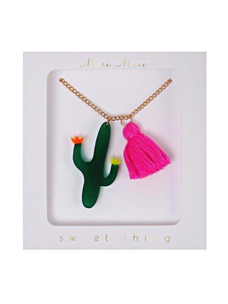 Meri Meri Cactus Necklace Ketting