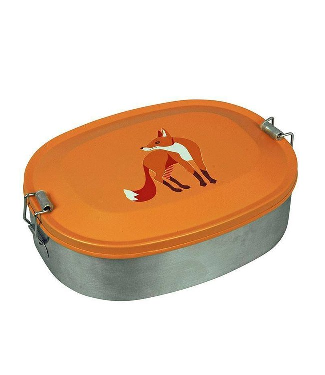Lunchbox Fox, roestvrij staal