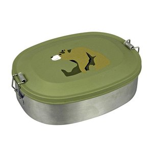 Lunchbox Bear, roestvrij staal