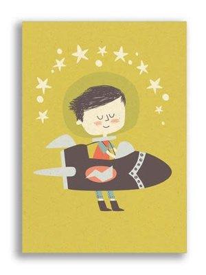 Ansichtkaart Rocket Boy