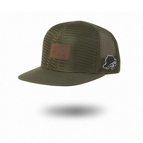 Tiny Turtle Tiny Turtle Cap Soft Shell Green