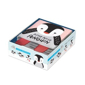 Wee Gallery Soft Book Pitter Patter Penguin
