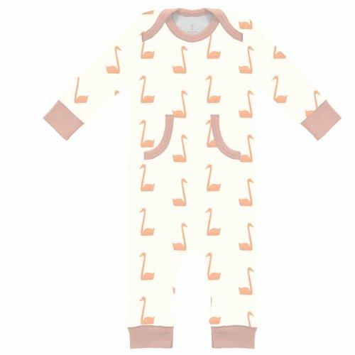 Fresk Fresk pyjama zonder voetjes Swan Pale Peach
