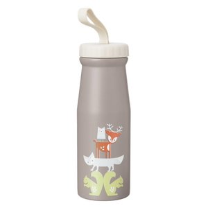 Fresk Fresk Thermosfles Forest Animals, 380 ml dubbelwandig roestvrij staal