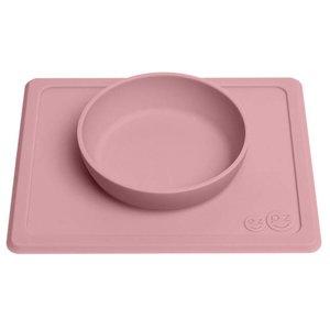 EZPZ EZPZ Happy bowl Placemat & bowl in one Blush/ Roze