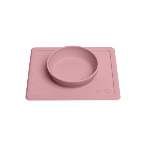 EZPZ EZPZ Happy bowl Placemat & bowl in one Blush/ Roze