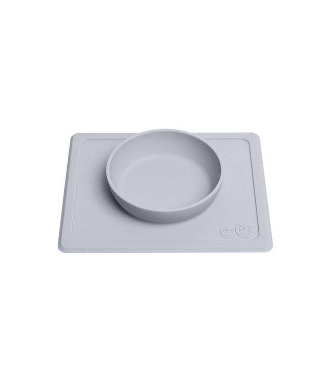 EZPZ EZPZ Mini bowl Placemat & bowl in one Pewter/ Lichtgrijs