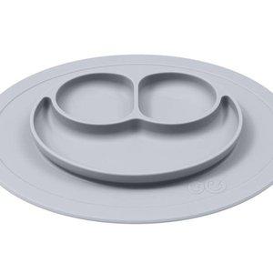 EZPZ EZPZ Mini mat Placemat & plate in one Pewter/ Lichtgrijs