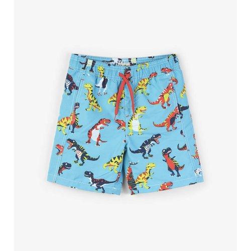 Hatley Swim Shorts Roaring T-Rex