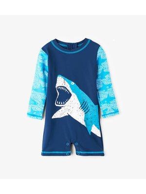 Hatley Baby Rashguard One-Piece Shark Alley