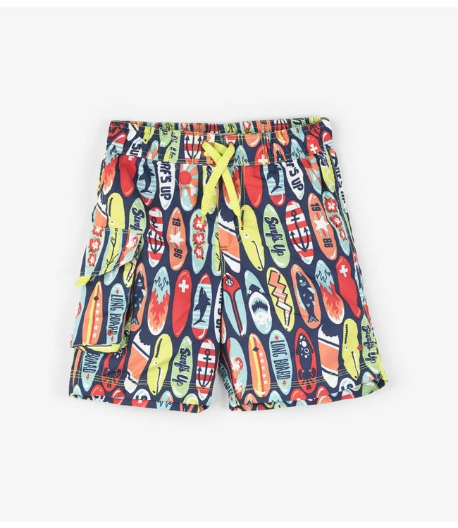 Hatley Swim Shorts Surfboards UV Factor 50+