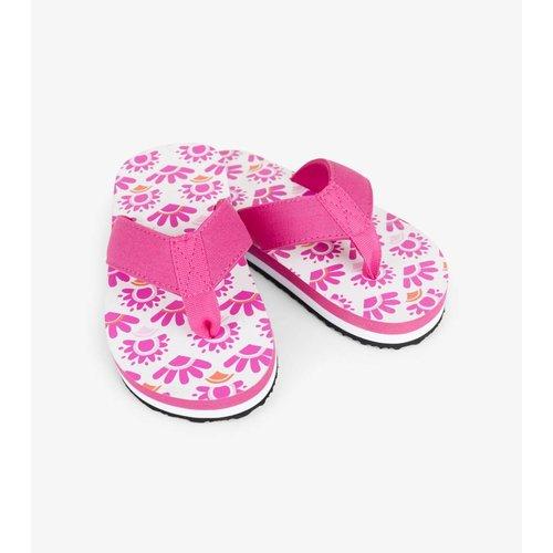 Hatley Flip flops Pink Sarchi maat 24 - 2/4 jaar