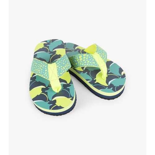 Hatley Flip flops Friendly Manta Rays maat 24 - 2/4 jaar