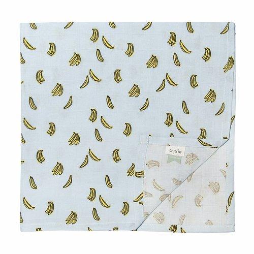 Trixie Trixie Hydrofieldoeken 110 x 110 cm  Bananas