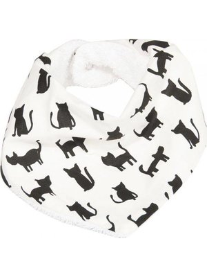 Trixie Bandana slab Organic Cotton Black Cats