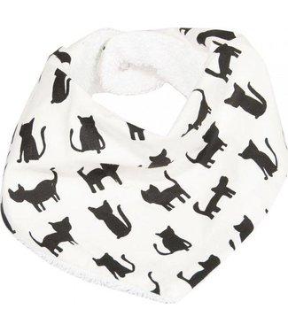 Trixie Bandana slab Organic Cotton Black Cats