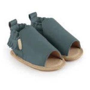 Boumy Boumy leren zomer slofjes open teen Noa Arctic Leather