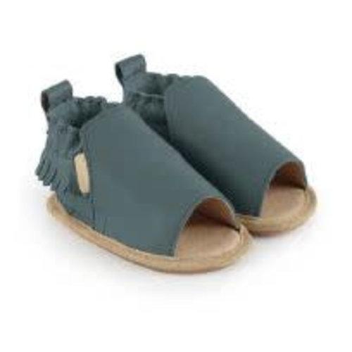 Boumy Zomer slofjes open teen Noa Arctic Leather