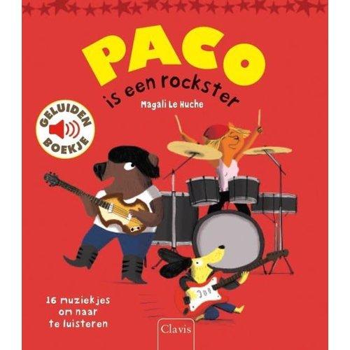 Paco is een rockster - geluidenboek. Magali Le Huche
